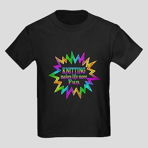 Knitting Makes Life More Fun T-Shirt