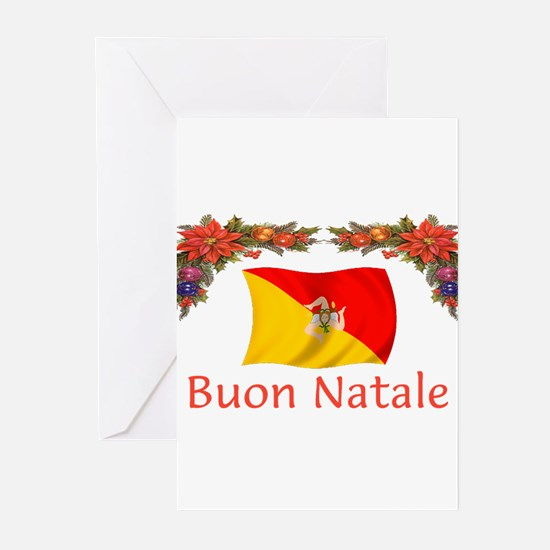 Cute Buon natale Greeting Cards (Pk of 20)