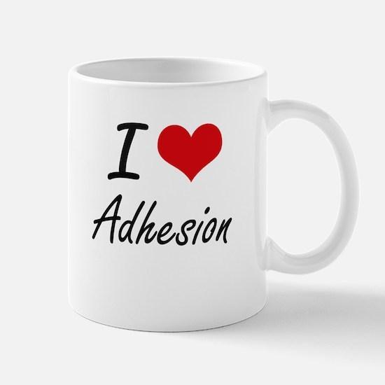 I Love Adhesion Artistic Design Mugs