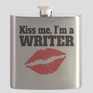 Kiss Me Im A Writer Flask