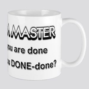 Scrum Master Done Mugs