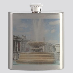 Fountain, Trafalgar Square, London Flask