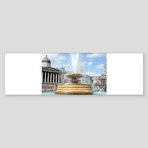 Fountain, Trafalgar Square, London Bumper Sticker