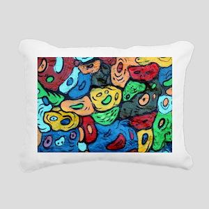 Urban Art Rectangular Canvas Pillow
