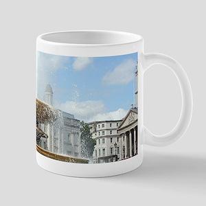 Fountain, Trafalgar Square, London Mugs