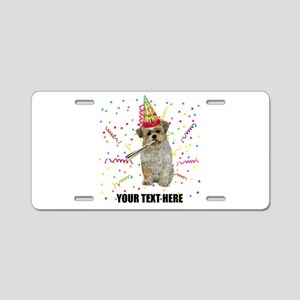 Personalized Tibetan Terrie Aluminum License Plate