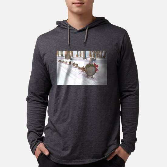 Boston Common Ducks at Christm Long Sleeve T-Shirt