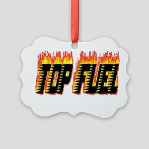 Top Fuel Flame Ornament