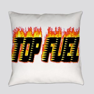 Top Fuel Flame Everyday Pillow