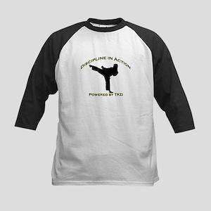 Taekwondo Discipline in Action Baseball Jersey
