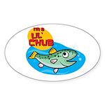 I'm Chub Sticker (Oval)