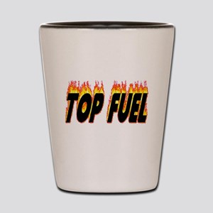 Top Fuel Flame Shot Glass