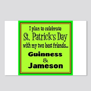 Guinness & Jameson Postcards (Package of 8)