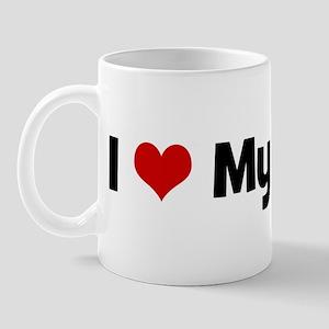 I love my Samoyed Mug