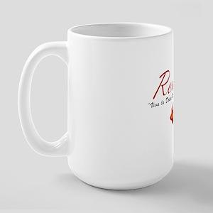 ROME SCOTTER GIRL Large Mug
