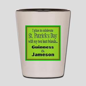 Guinness & Jameson Shot Glass