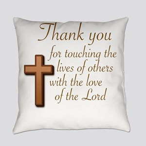 BIBLE TEACHERS/PREACHERS - THANK Y Everyday Pillow