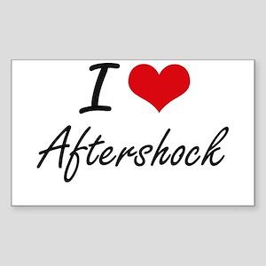 I Love Aftershock Artistic Design Sticker