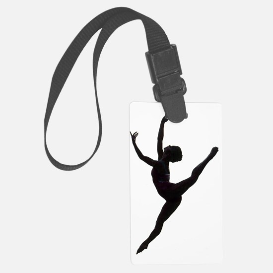 Ballet Dance Luggage Tag
