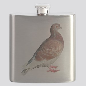 Red Pigeon (Isolated) Flask