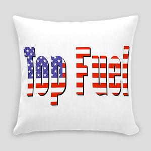Patriotic Top Fuel Everyday Pillow
