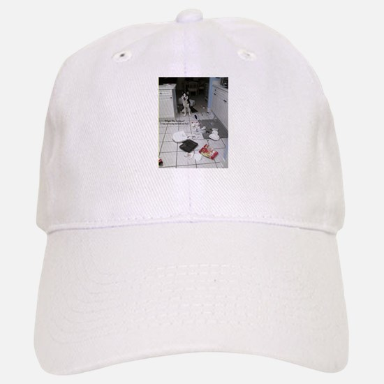 Innocent Siberian Husky Baseball Baseball Cap