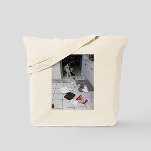 Innocent Siberian Husky Tote Bag