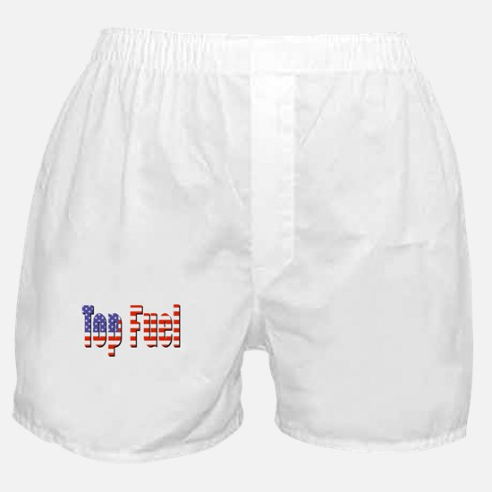 Patriotic Top Fuel Boxer Shorts