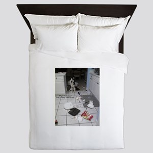 Innocent Siberian Husky Queen Duvet