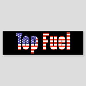 Patriotic Top Fuel Bumper Sticker