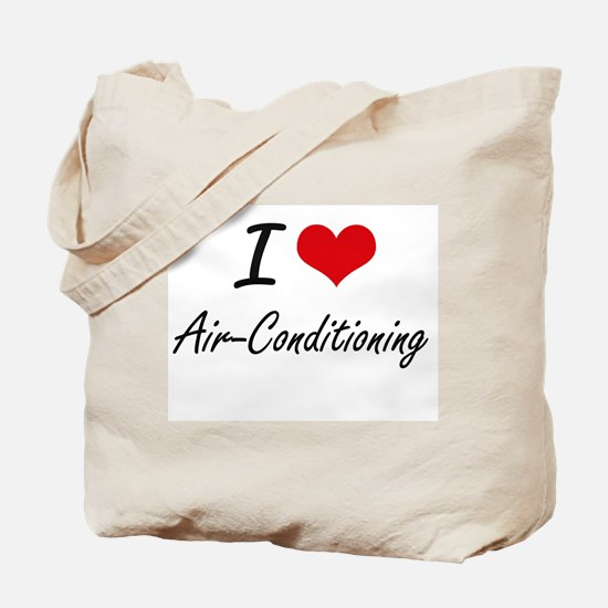 I Love Air-Conditioning Artistic Design Tote Bag
