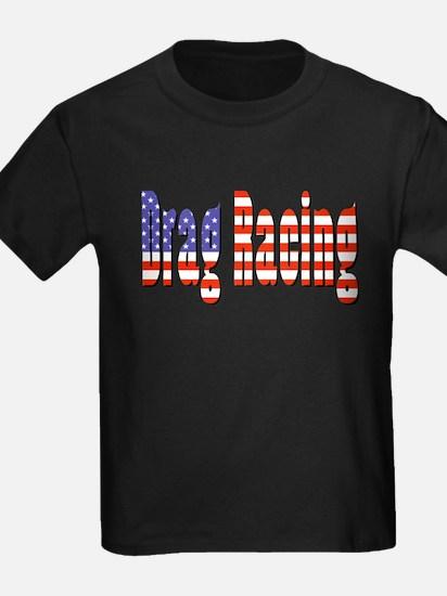 Patriotic Drag Racing T-Shirt