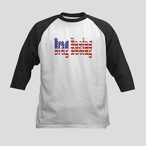 Patriotic Drag Racing Baseball Jersey