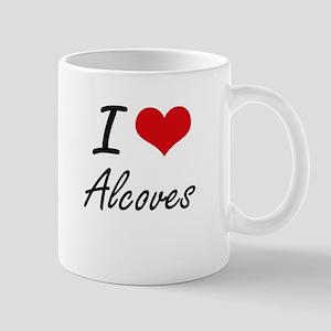 I Love Alcoves Artistic Design Mugs