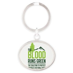 Our Blood Runs Green Keychains