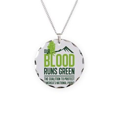 Our Blood Runs Green Necklace