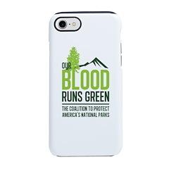 Our Blood Runs Green iPhone 8/7 Tough Case