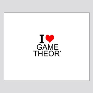 I Love Game Theory Posters