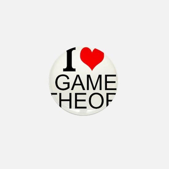 I Love Game Theory Mini Button
