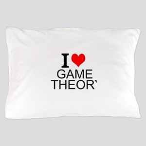 I Love Game Theory Pillow Case