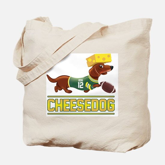 Cheesedog 2 (Dachshund) Tote Bag