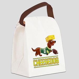 Cheesedog 2 (Dachshund) Canvas Lunch Bag