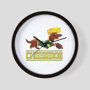Cheesedog 2 (Dachshund) Wall Clock