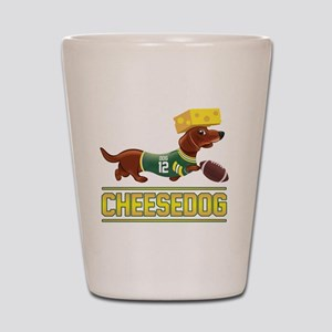Cheesedog 2 (Dachshund) Shot Glass