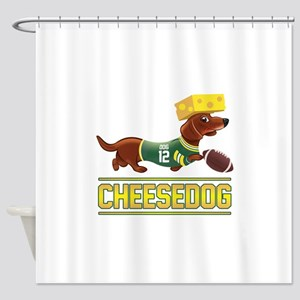Cheesedog 2 (Dachshund) Shower Curtain