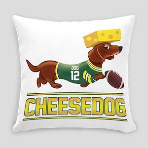 Cheesedog 2 (Dachshund) Everyday Pillow
