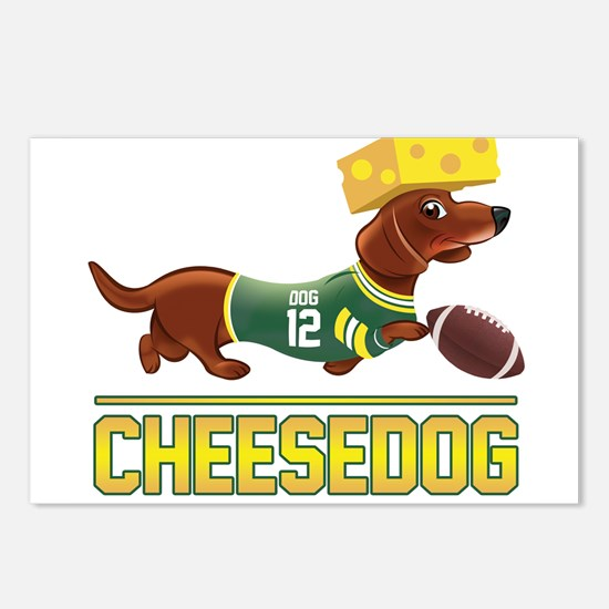 Cheesedog 2 (Dachshund) Postcards (Package of 8)