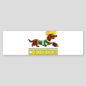Cheesedog 2 (Dachshund) Bumper Sticker