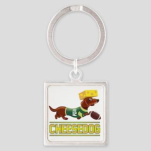Cheesedog 2 (Dachshund) Keychains