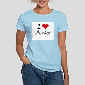 I Love Amoebas Artistic Design T-Shirt